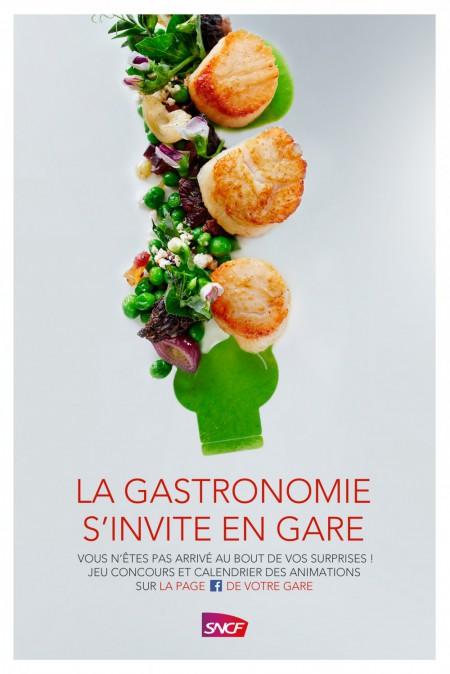 SNCF, Votre gare se met à l'heure gourmande de la gastronomie!